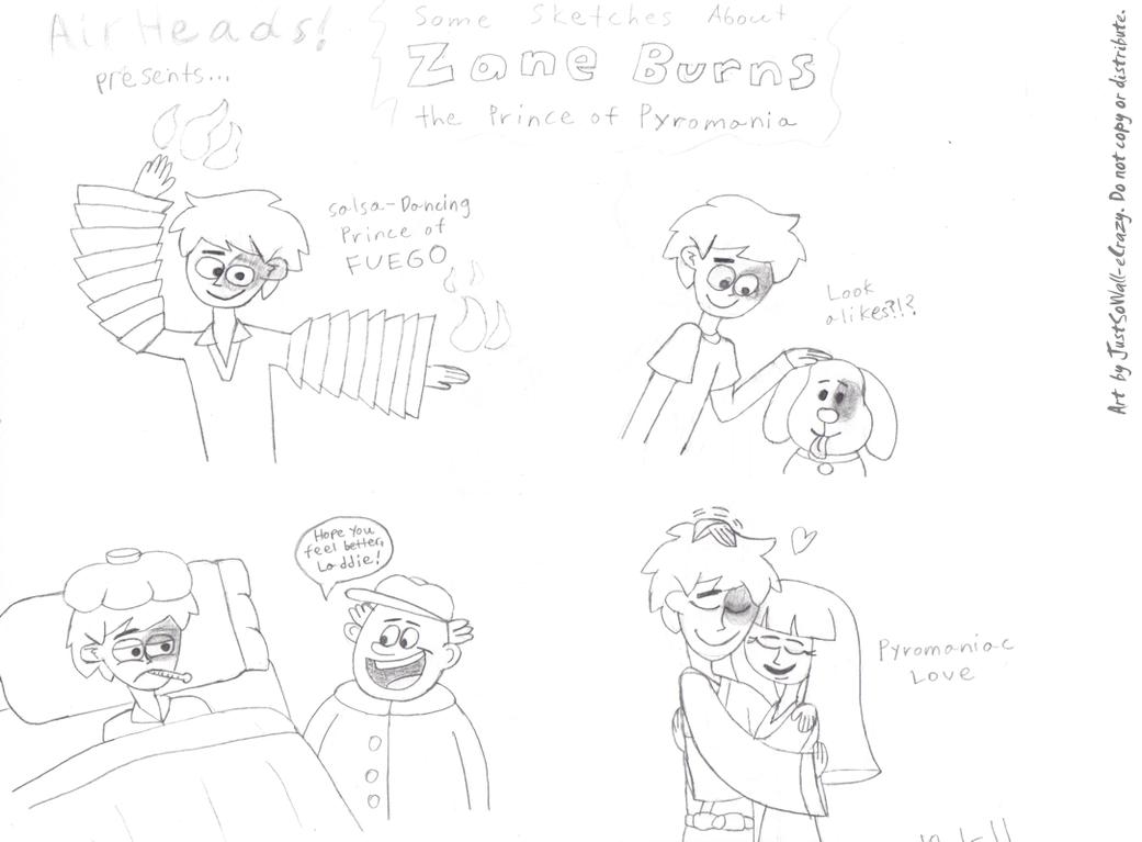 Sketch Dump: Principe de Fuego by MU-Cheer-Girl