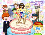 A Big 21st Birthday SURPRISE!!!
