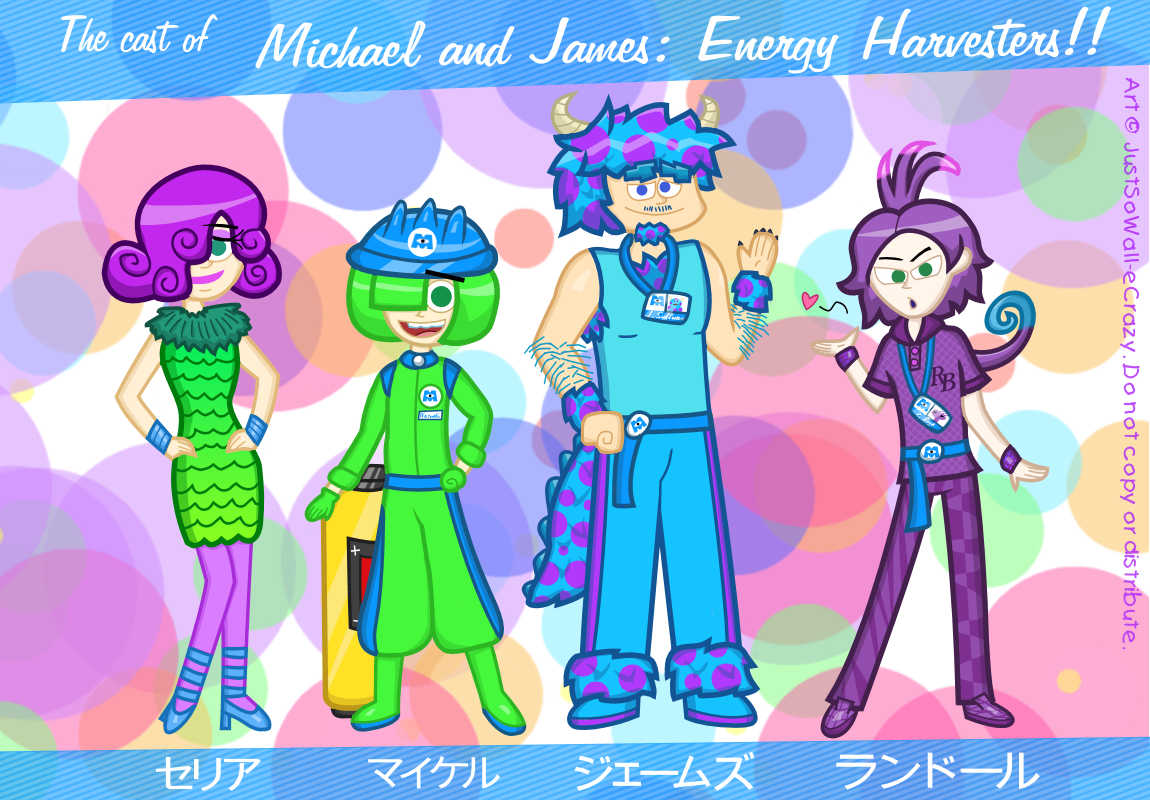 Cast of Michael and James: Energy Harvesters!!