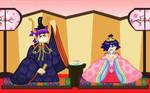 Hina Matsuri Emperor and Empress