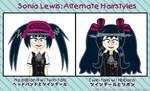 Sonia's Alternate Hairstyles