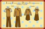 J.E.D.I. Academy Uniforms