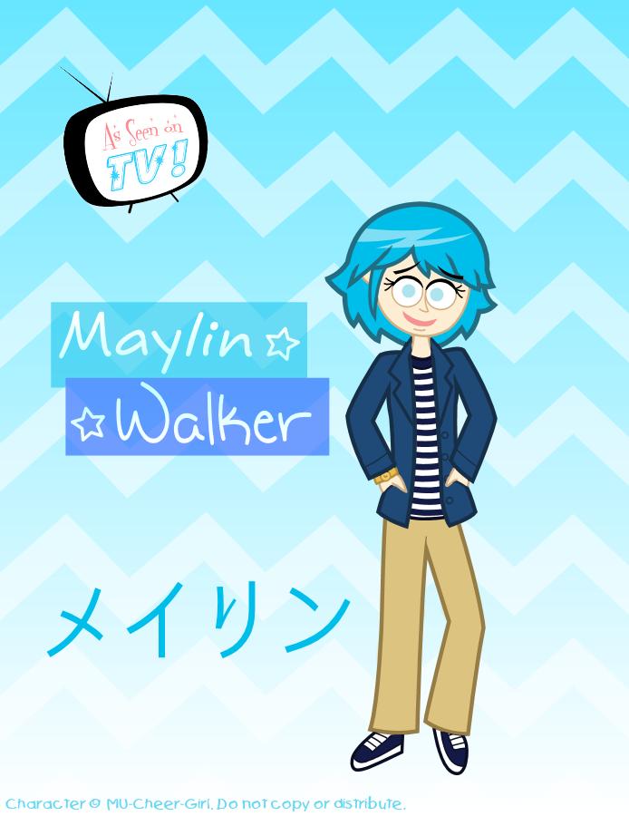 As Seen on TV - Maylin by MU-Cheer-Girl