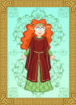 Princess Merida - Alternate Dress Idea