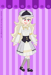 Frilly and Fancy Corrin by MU-Cheer-Girl