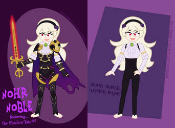 Corrin - Nohr Noble redesign by MU-Cheer-Girl