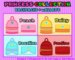 Backpacks + Wallets: Princess Edition