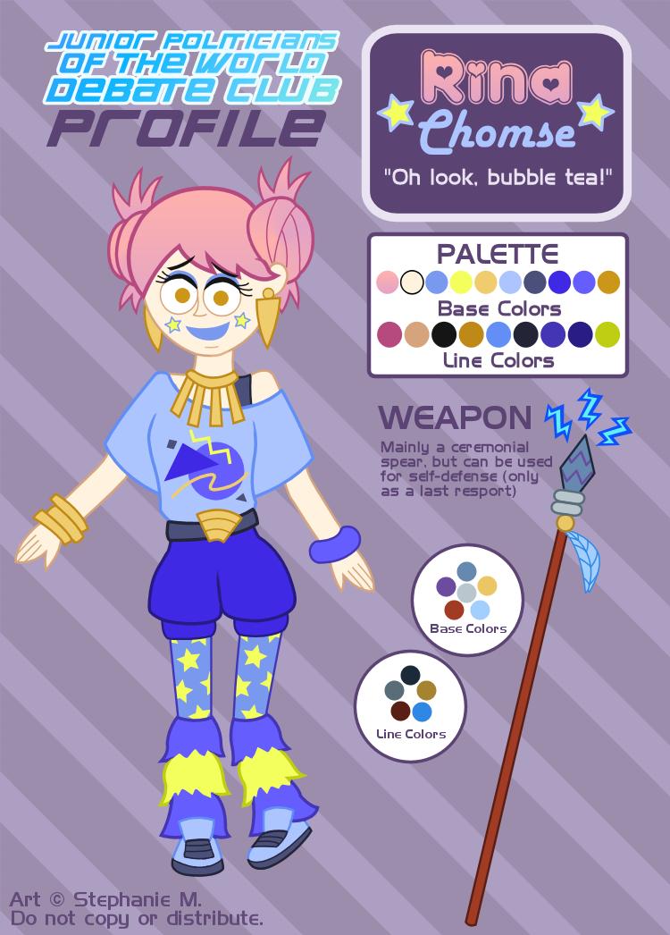 Debate Club Profile: Rina