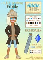 J.E.D.I. Profile: Addie