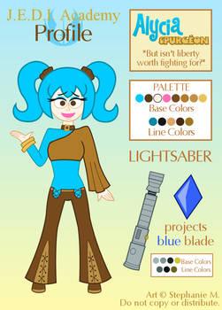 J.E.D.I. Profile: Alycia