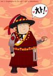 Military Hanbok and a Cup o' Tea by MU-Cheer-Girl