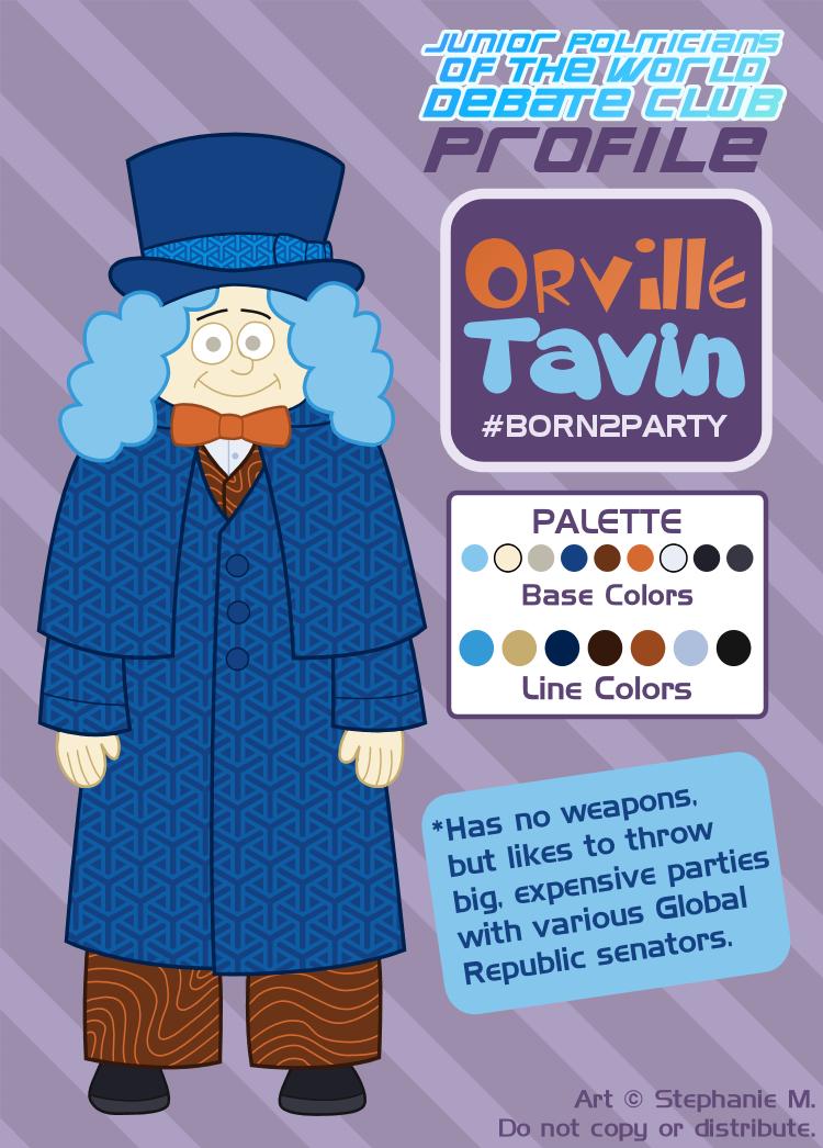 Debate Club Profile: Orville