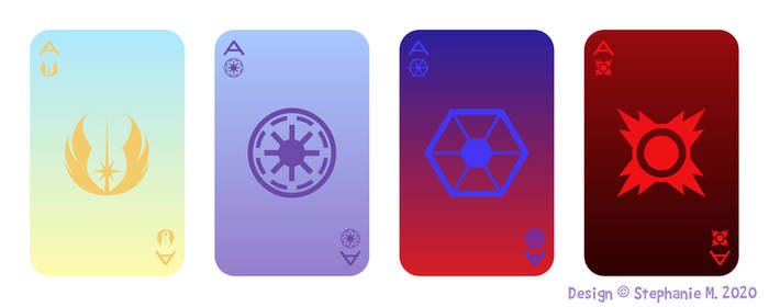 J.E.D.I. Ace cards
