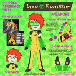 Re-Design Sheet: Jane Reaction