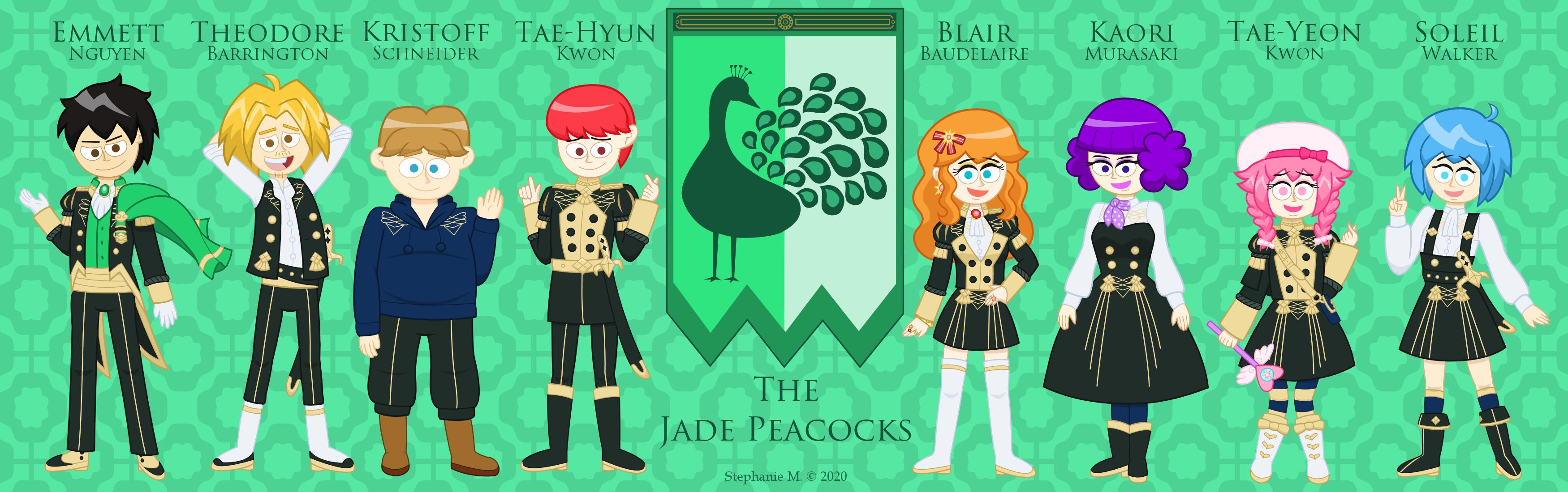 The Jade Peacocks