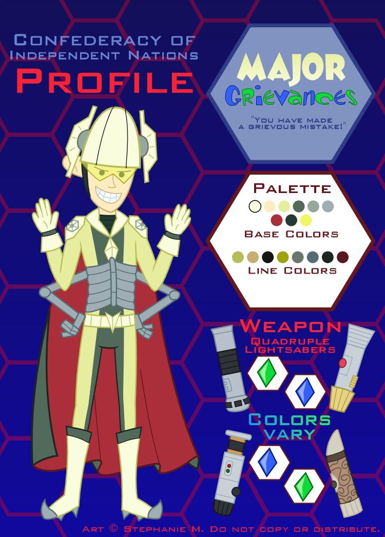 C.I.N. Profile: Major Grievances