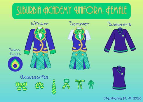 Suburbia Academy: Female Uniform