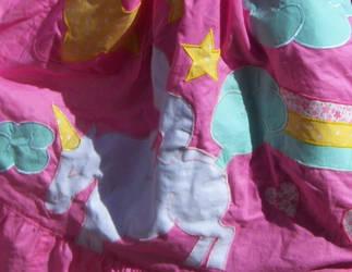 Farting Unicorn Apron Detail by Andichan04