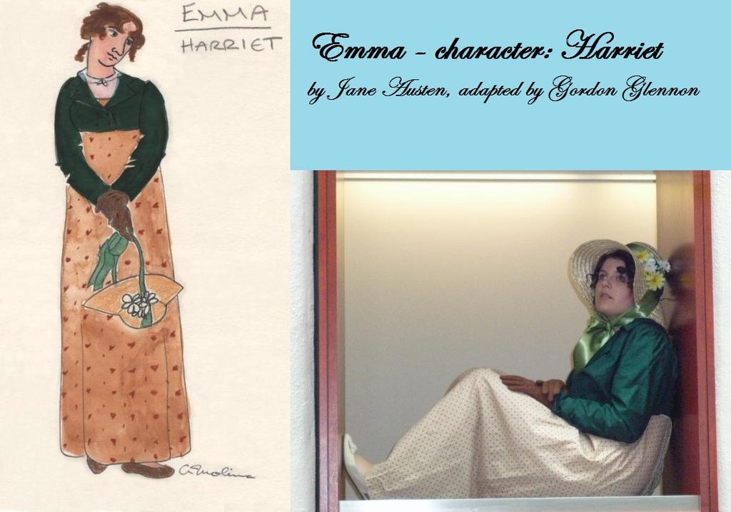 Jane Austen's Emma, costume design/final Harriet by Andichan04
