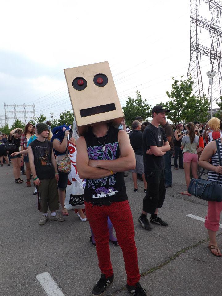 lmfao robot real face - photo #34