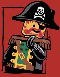 Lego Pirate Print