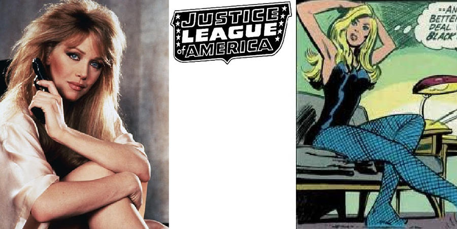 80's JLA - Black Canary: Tonya Roberts by AllStarDoomsday1992
