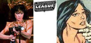 80's JLA - Carol Ferris: Melody Anderson
