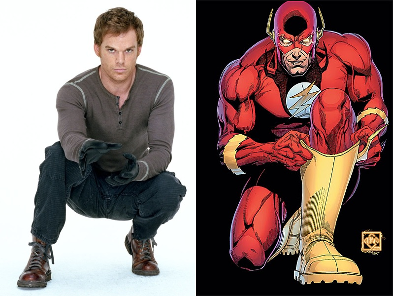 The Flash Cast: Barry Allen - Michael C Hall by
