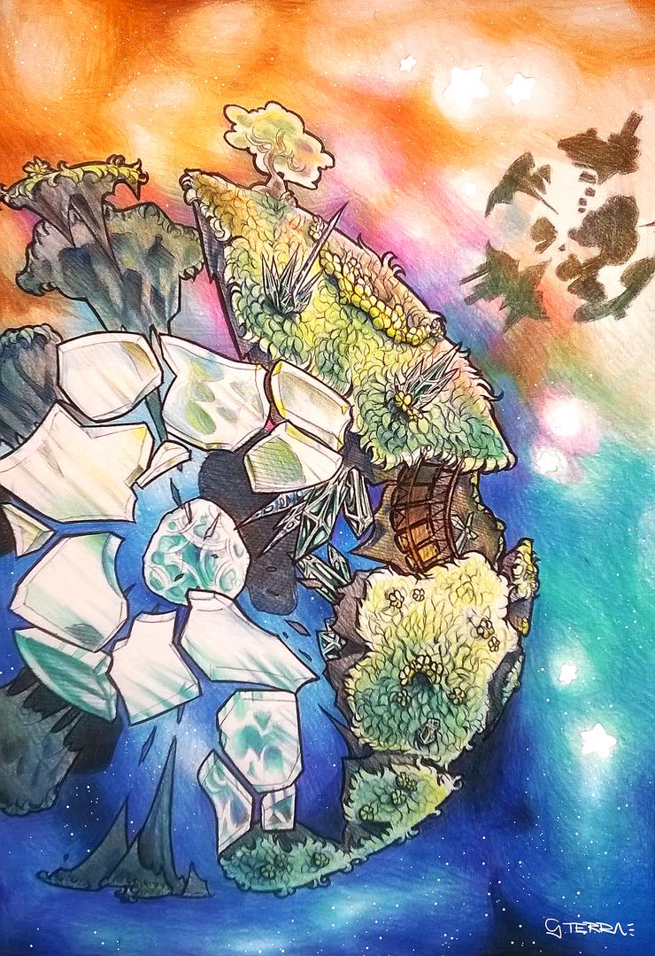 Garden in Pieces by Aeniridiae
