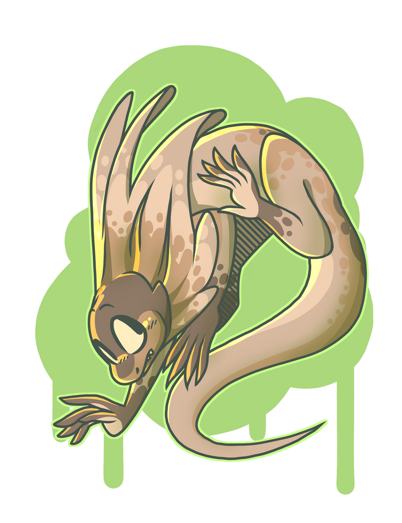 Dragons are real and they float (AT) by Aeniridiae