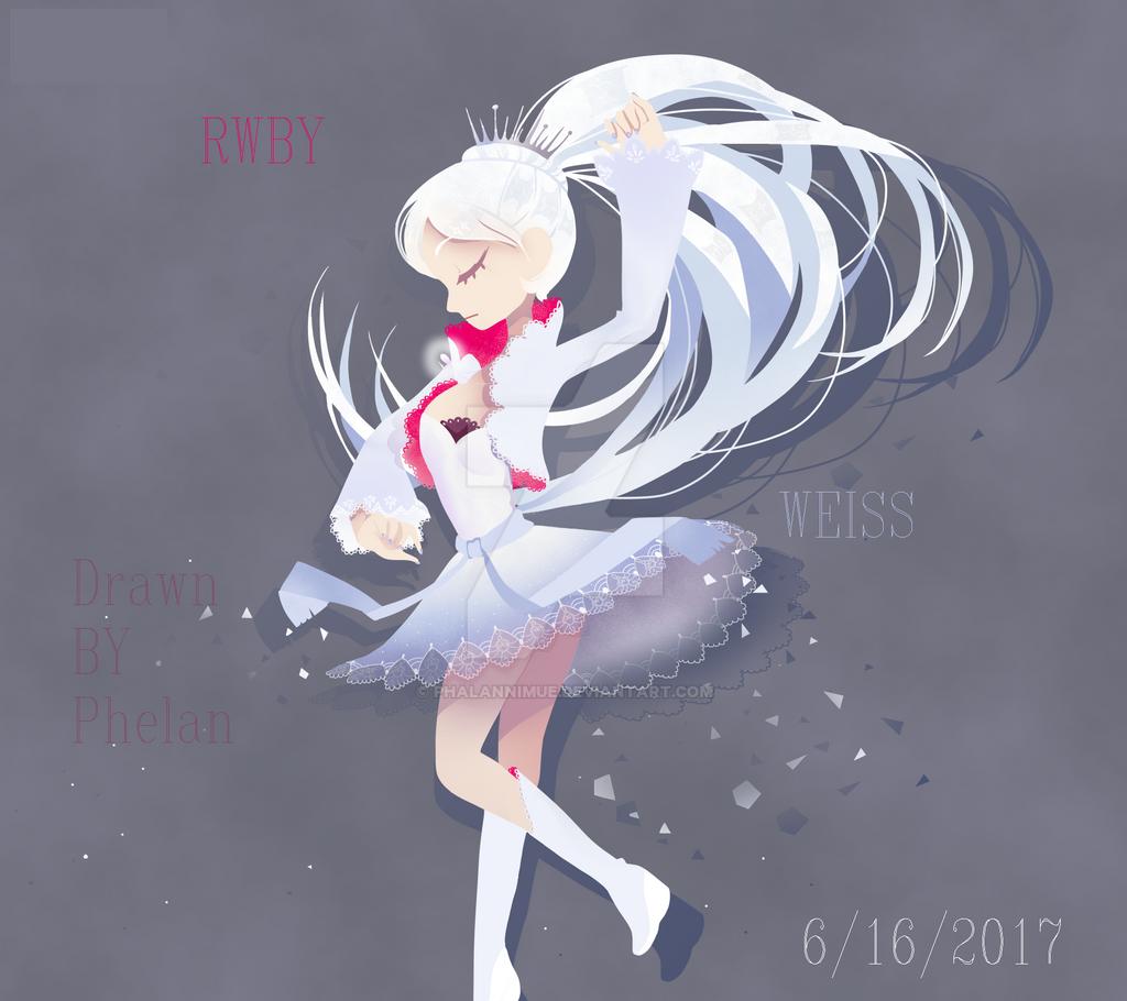{phalanNimue} Weiss by PhalanNimue