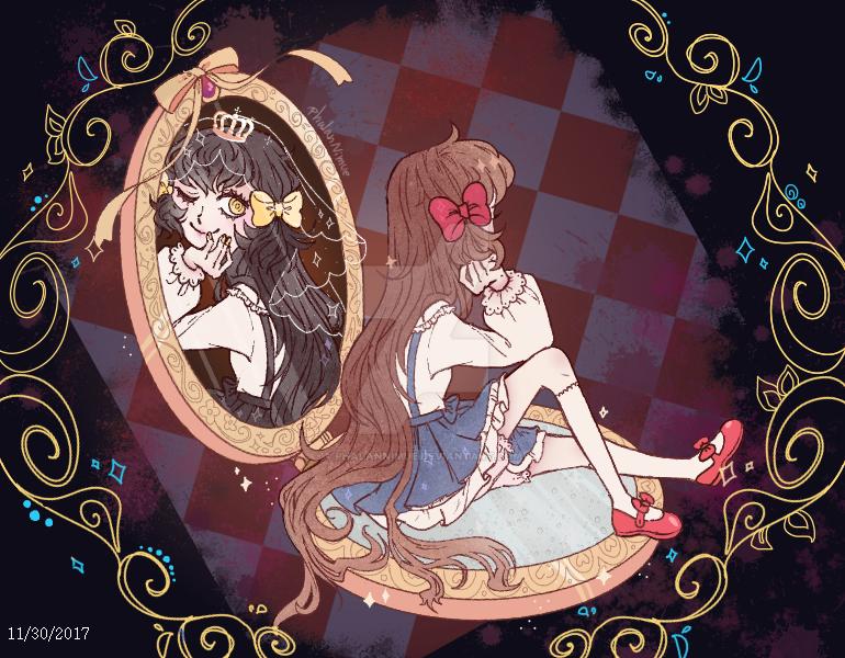 {Pocket Mirror} by PhalanNimue