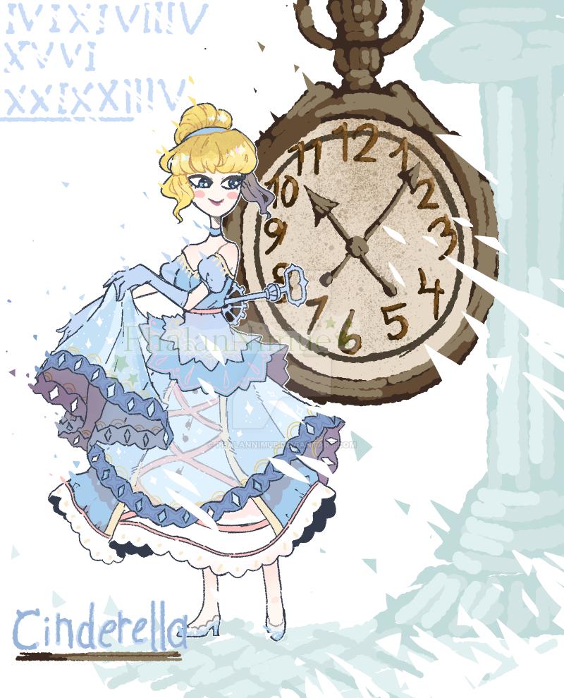 Cinderella by PhalanNimue