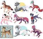 Mixed doggo adopts BATCH [3/8 OPEN]