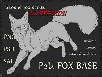 50% OFF FOR 48 HOURS P2u Fox Base