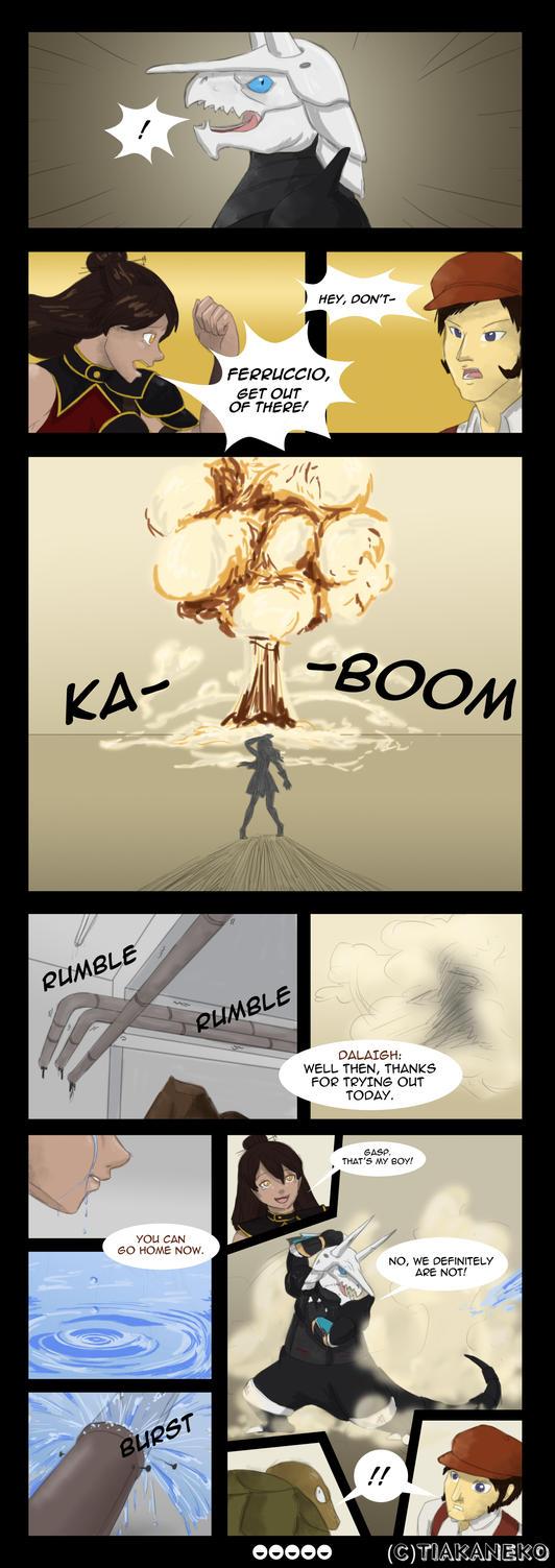 SXL R1 - Devout Warriors (Page 5) by tiakaneko