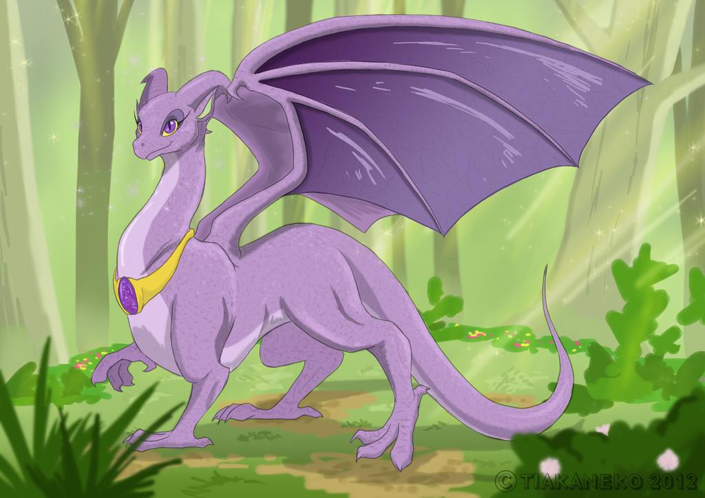 Commission - Dragon Princess by tiakaneko