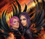 Dark Angels (A love born of the Phoenix)