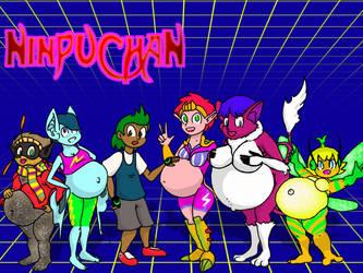 May-Tern-OC: Ninpuchan by Gravidtron