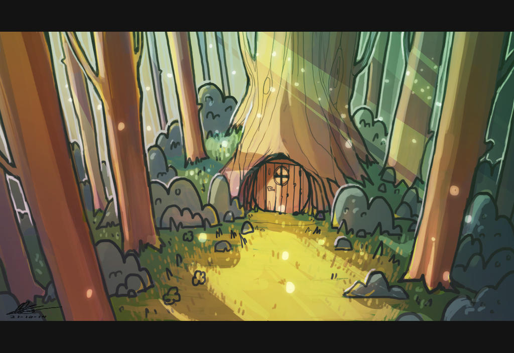 foxhole | animation background by Itrebur