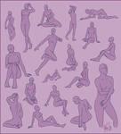 Poses - Female Sheet