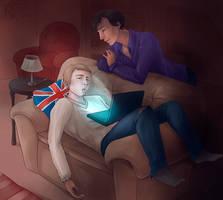 Sleep Well, John by Rosaka-Chan