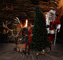 Santa's helpers by robhas1left