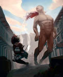 Attack on Titan: Mikasa Doing WORK