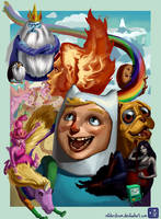 Adventure Time O'Clock! by MisterStrum