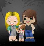 KakuTsu Family Portrait by Ai-Draws