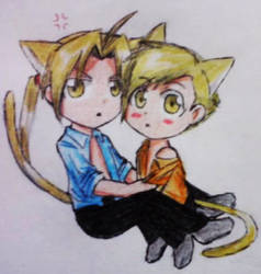 He's MINE! .::Elricest::.