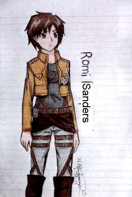 Romi Sanders .::SnK OC::. by fullmetaledward01