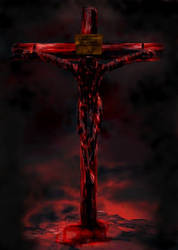 Crucified by nekarxenos