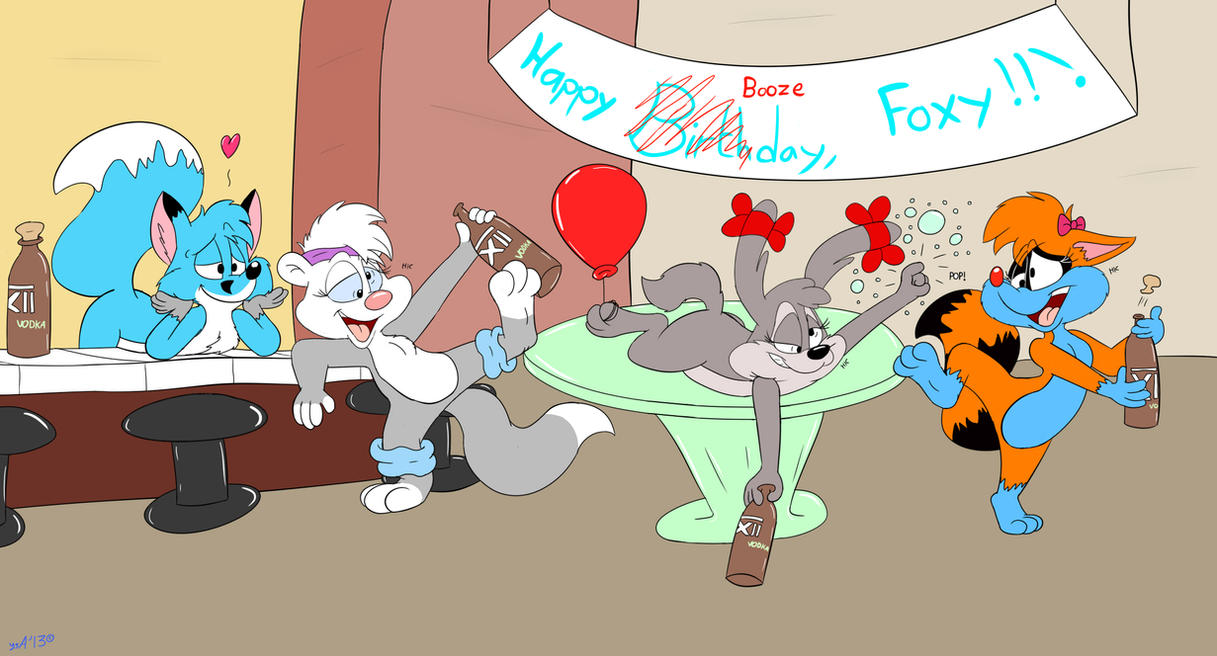 [Birthday Gift] for Foxlover91 by RupertBlueFox